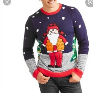 Jolly Sweater ugly Christmas sweater santa